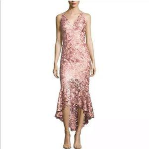 XSCAPE Mermaid Formal Bridesmaid Dress Pink Size 2